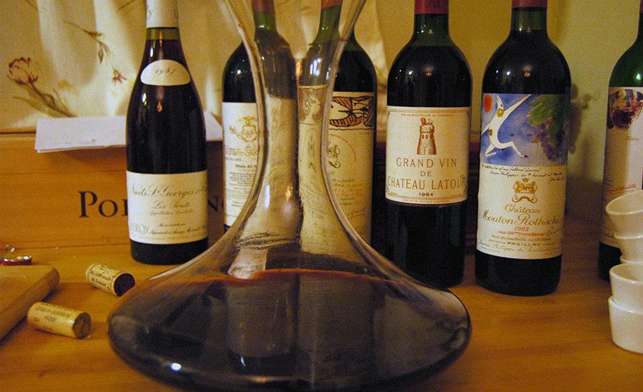 Stor Bordeaux og karaffel