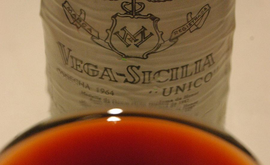 Vega Sicilia i glasset
